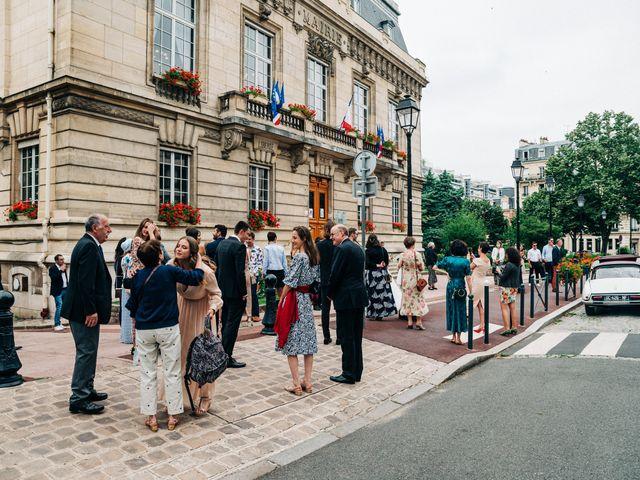 Le mariage de Sakr et Marion à Paris, Paris 15