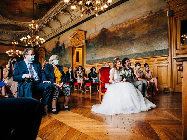Le mariage de Sakr et Marion à Paris, Paris 17
