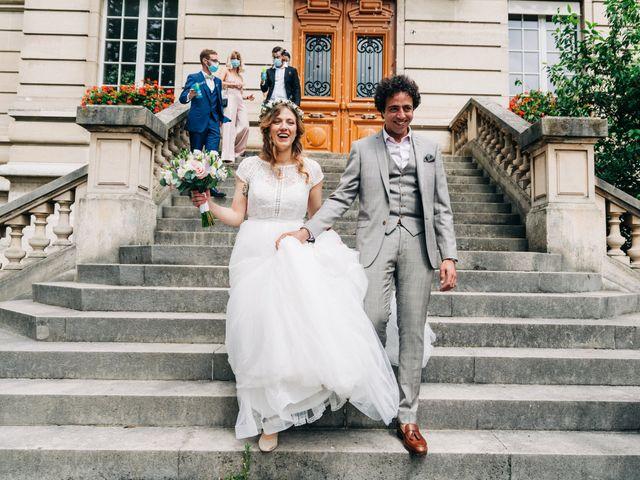 Le mariage de Sakr et Marion à Paris, Paris 18