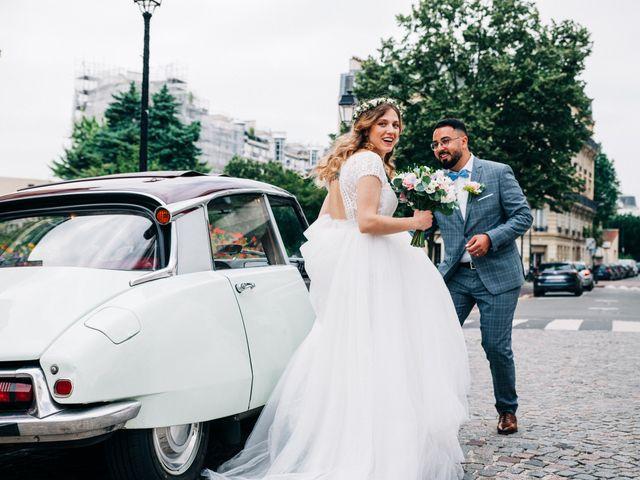 Le mariage de Sakr et Marion à Paris, Paris 19