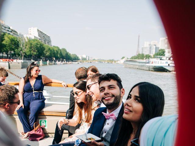 Le mariage de Sakr et Marion à Paris, Paris 21