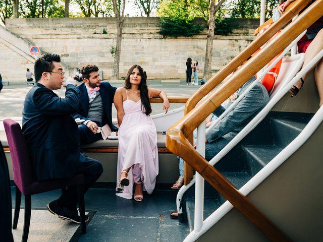 Le mariage de Sakr et Marion à Paris, Paris 27