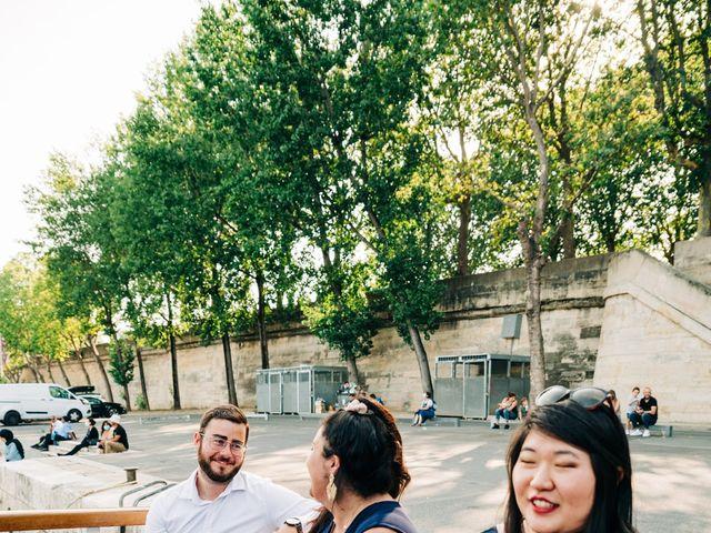 Le mariage de Sakr et Marion à Paris, Paris 28
