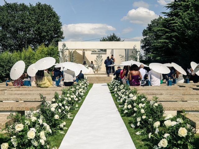 Le mariage de Nathanaël et Evelyne à Breuillet, Essonne 55
