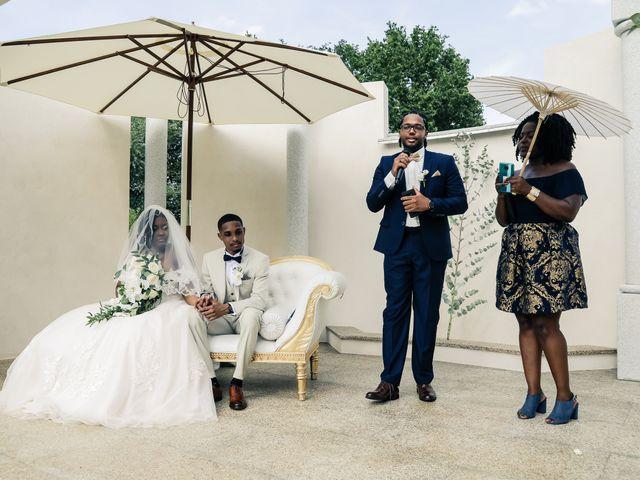 Le mariage de Nathanaël et Evelyne à Breuillet, Essonne 77