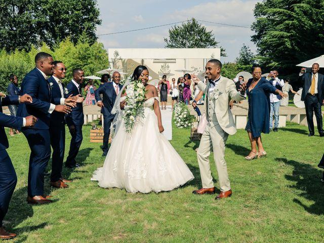Le mariage de Nathanaël et Evelyne à Breuillet, Essonne 93