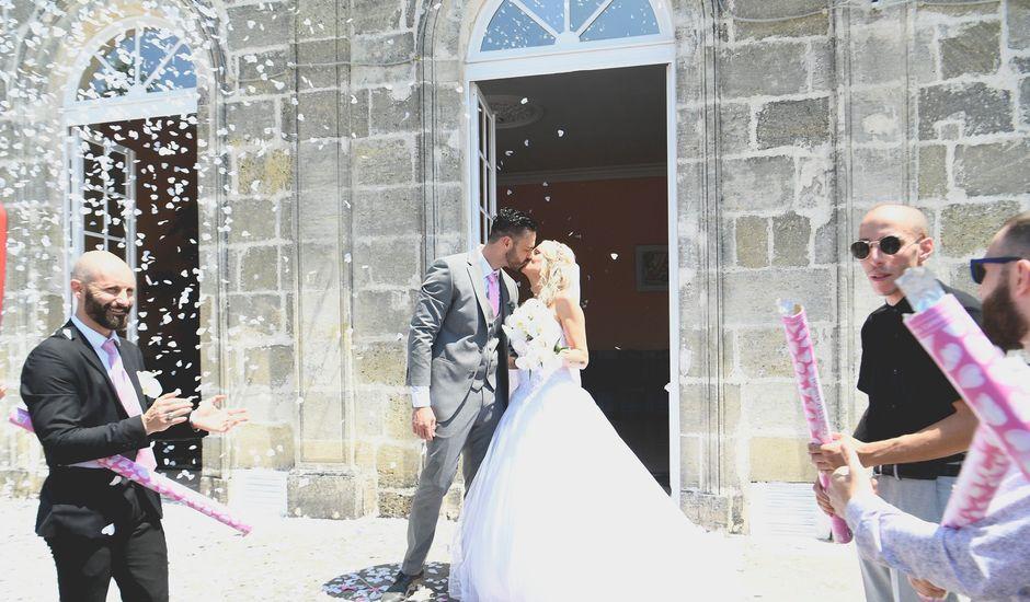 Le mariage de Granger et Vanessa  à Saint-Gervais, Gironde