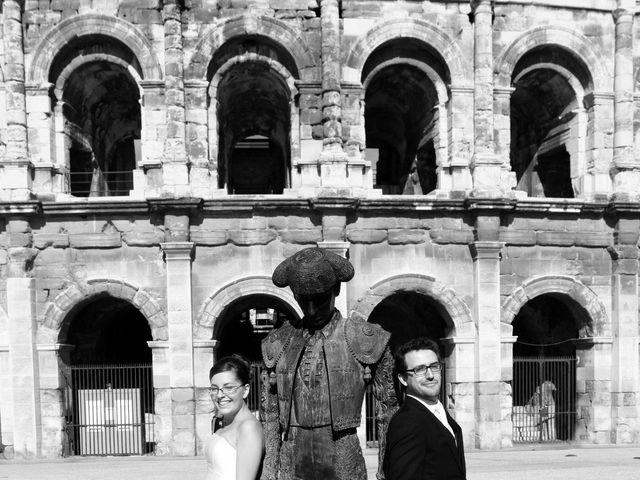 Le mariage de Alexandre et Fanny à Nîmes, Gard 8
