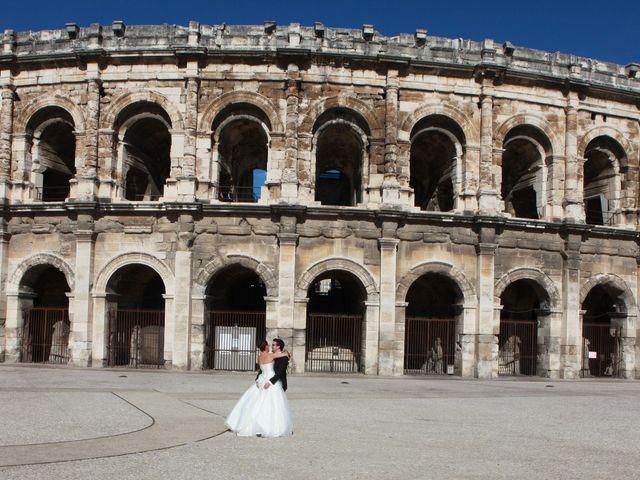 Le mariage de Alexandre et Fanny à Nîmes, Gard 11