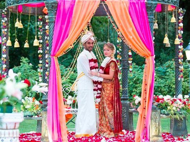 Le mariage de Jeyaganesh et Marine à Mauperthuis, Seine-et-Marne 8