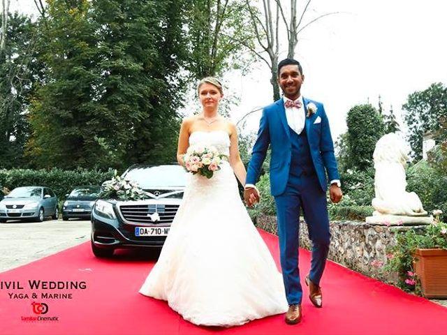 Le mariage de Jeyaganesh et Marine à Mauperthuis, Seine-et-Marne 14