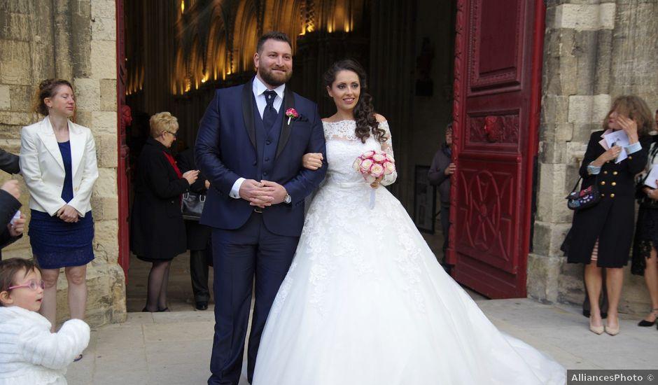 Le mariage de Frédéric et Clélia à Cauvicourt, Calvados