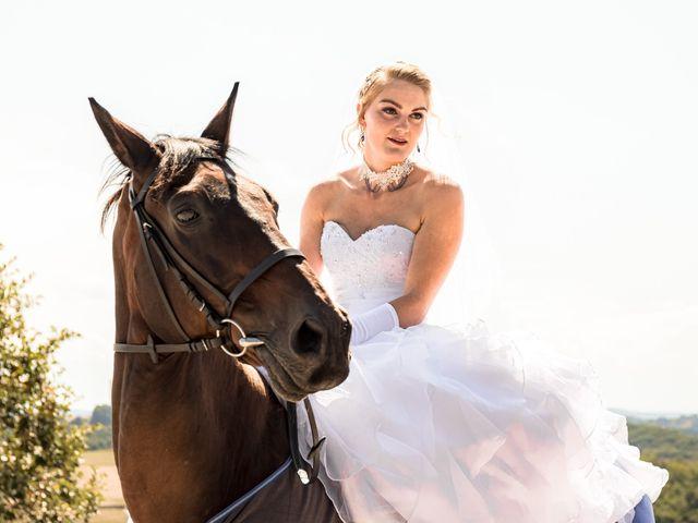 Le mariage de Salim et Céline à Durban, Gers 1