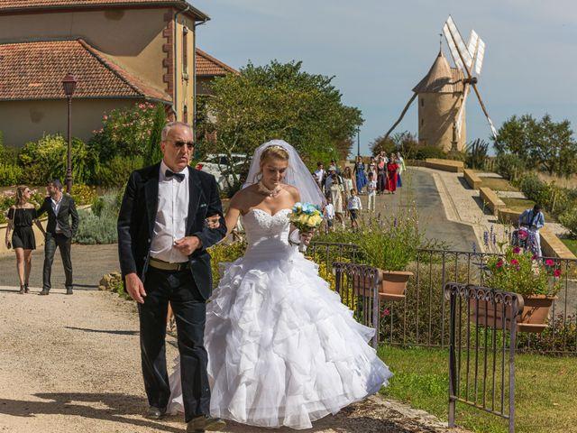 Le mariage de Salim et Céline à Durban, Gers 13