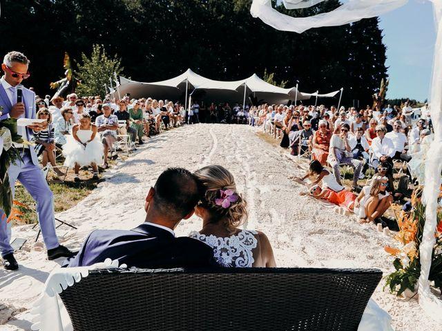 Le mariage de Mélanie et Damien
