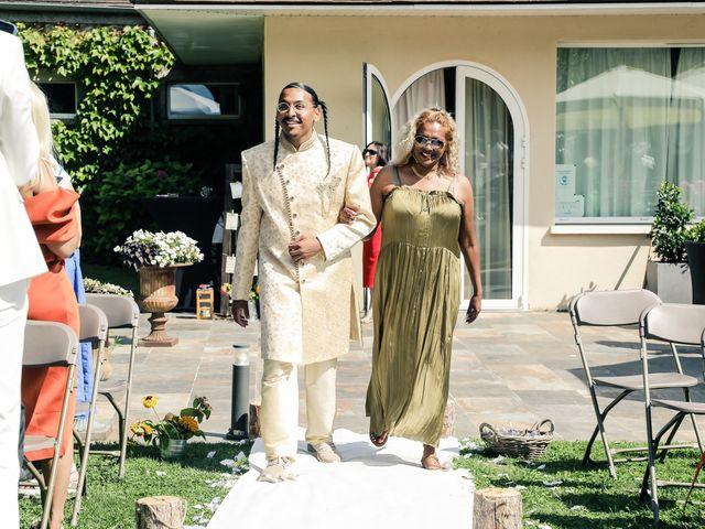 Le mariage de Andrew et Naomie à Bréau, Seine-et-Marne 26