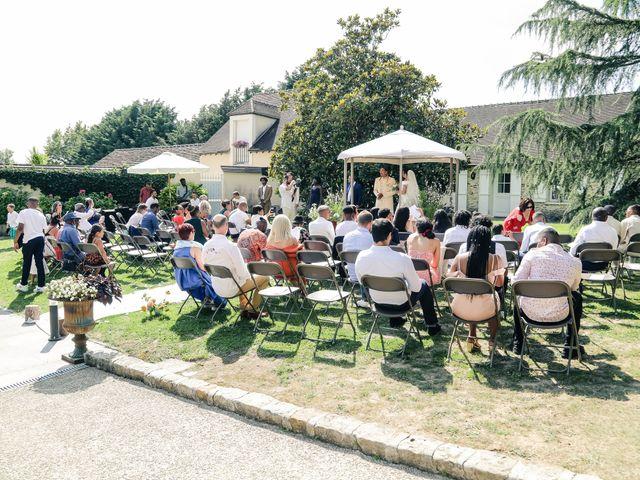 Le mariage de Andrew et Naomie à Bréau, Seine-et-Marne 35