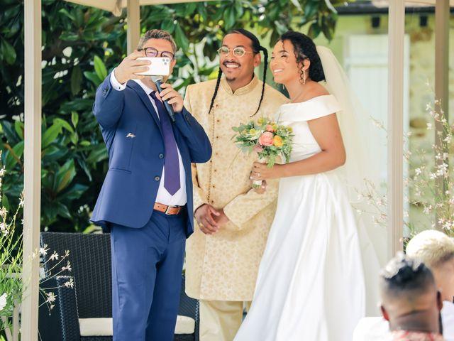 Le mariage de Andrew et Naomie à Bréau, Seine-et-Marne 43