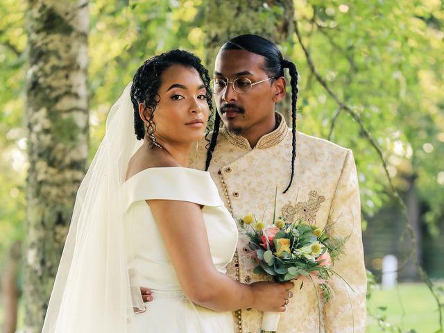 Le mariage de Andrew et Naomie à Bréau, Seine-et-Marne 77