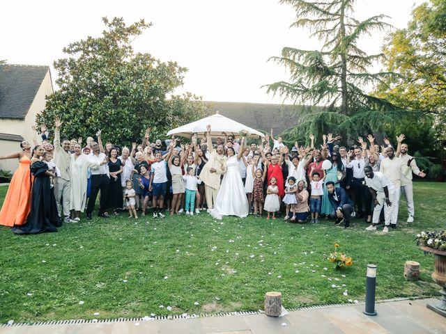 Le mariage de Andrew et Naomie à Bréau, Seine-et-Marne 91