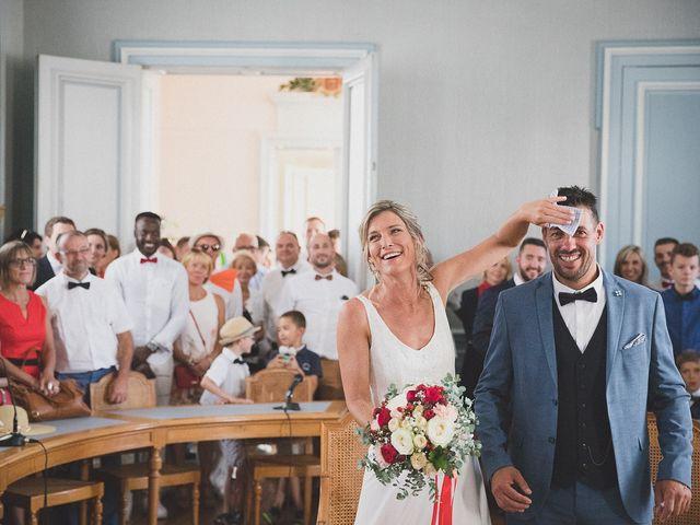 Le mariage de Karim et Audrey à Coutras, Gironde 8