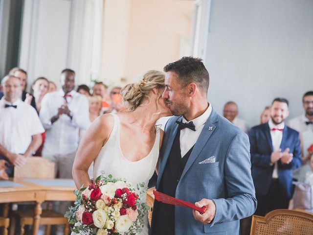 Le mariage de Karim et Audrey à Coutras, Gironde 11