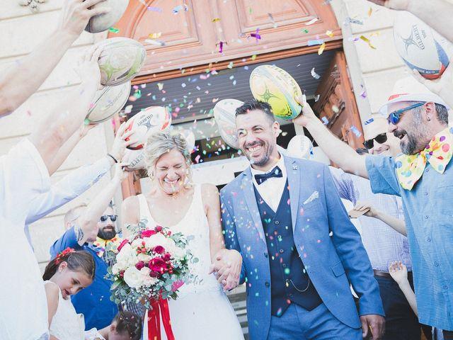 Le mariage de Karim et Audrey à Coutras, Gironde 15