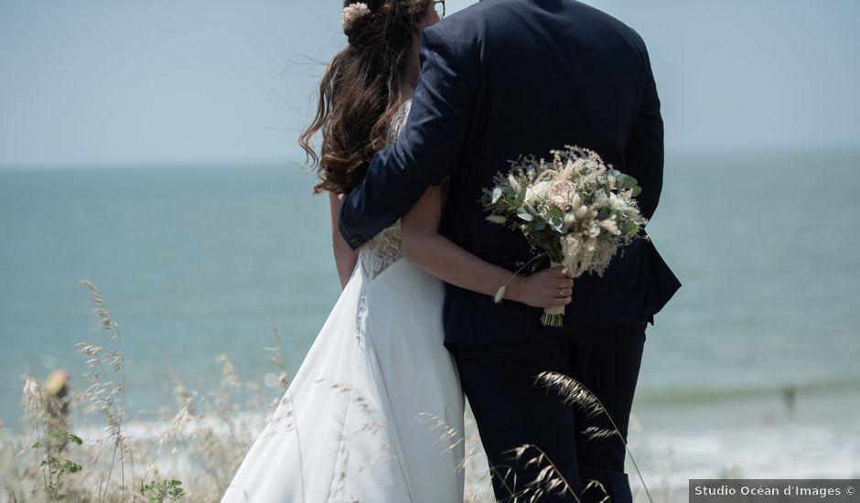 Le mariage de Mehdi et Fanny à Saint-Augustin, Charente Maritime