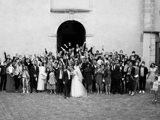 Le mariage de Jefferson et Claire à Orléans, Loiret 55