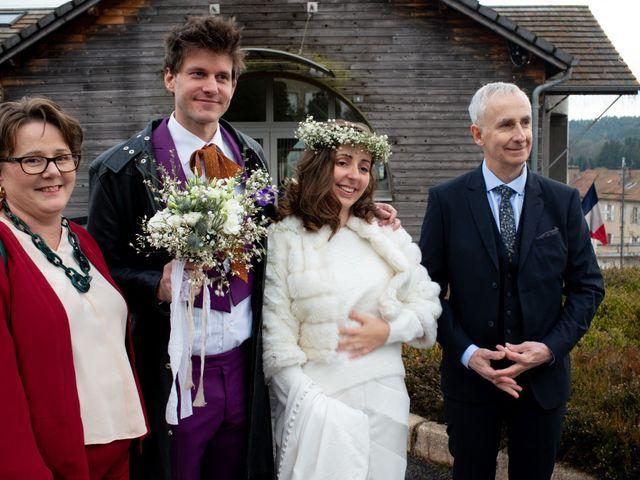 Le mariage de Léopold et Emilie à Le Chambon-sur-Lignon, Haute-Loire 15