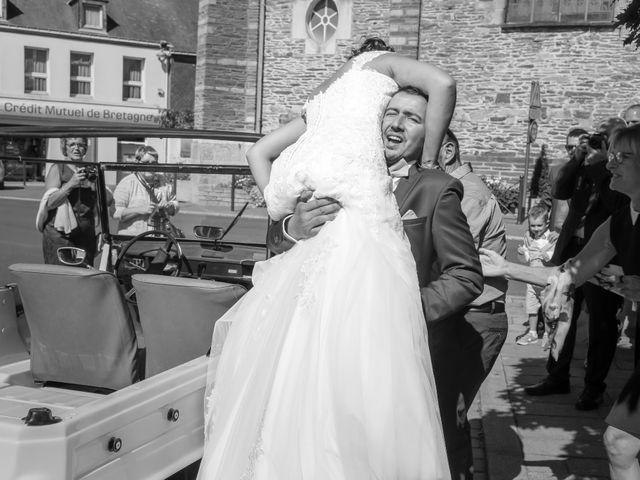 Le mariage de Gwénaël et Audrey à Guer, Morbihan 54