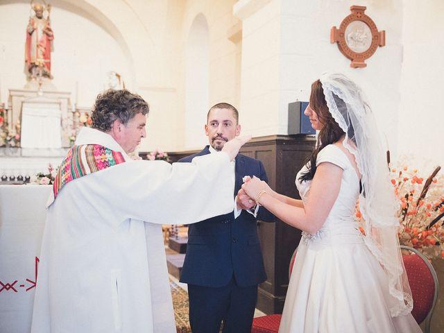 Le mariage de Nadir et Aurélie à Excideuil, Dordogne 13