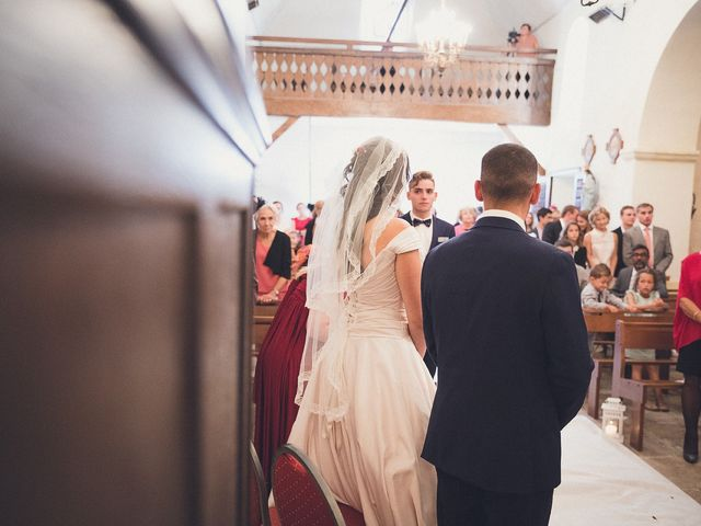 Le mariage de Nadir et Aurélie à Excideuil, Dordogne 17