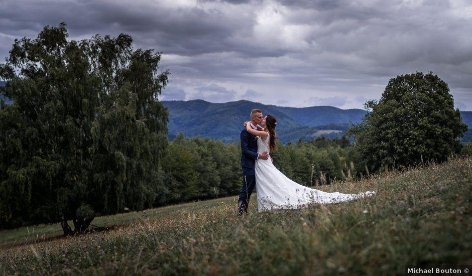 Le mariage de Jordan et Noemie à Ebersheim, Bas Rhin