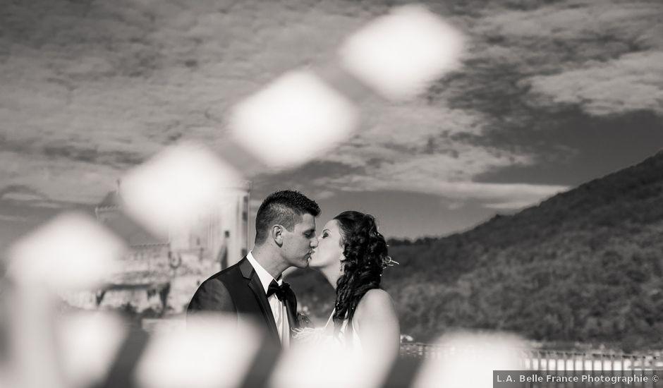 Le mariage de Thomas et Sophie à Foix, Ariège