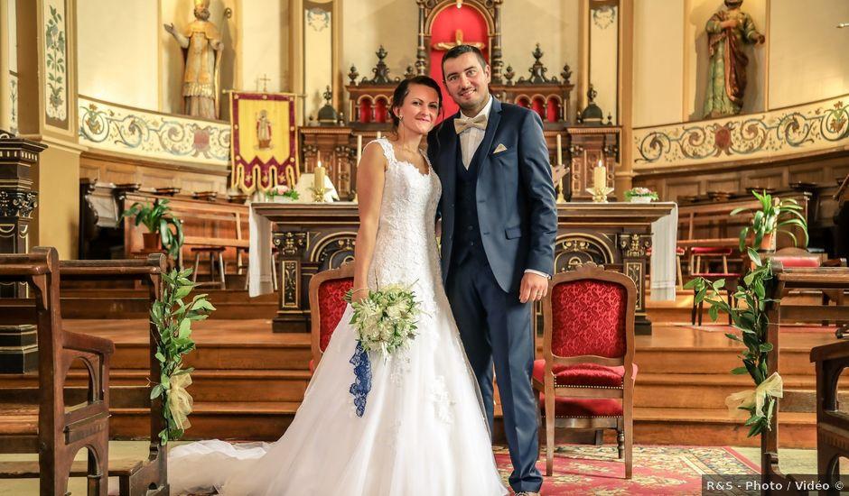 Le mariage de Gwénaël et Audrey à Guer, Morbihan