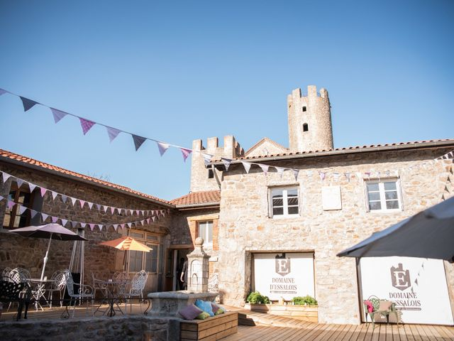Le mariage de Aurélien et Chloé à Communay, Rhône 37