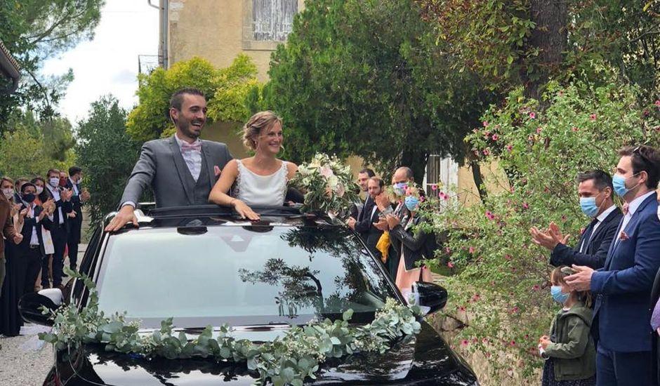 Le mariage de Krystel et Damien à Villevieille, Gard