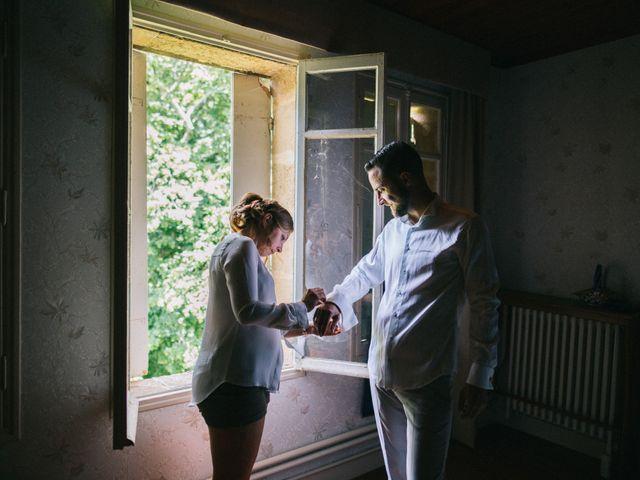 Le mariage de Mickael et Emile à Monbazillac, Dordogne 1