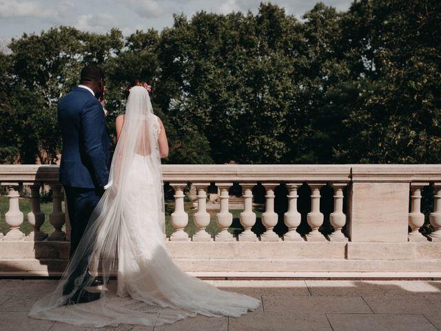 Le mariage de Amari et Geri à Saint-Thibéry, Hérault 15