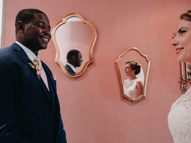 Le mariage de Amari et Geri à Saint-Thibéry, Hérault 16
