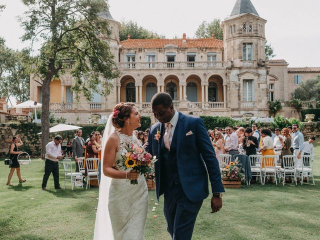 Le mariage de Amari et Geri à Saint-Thibéry, Hérault 28