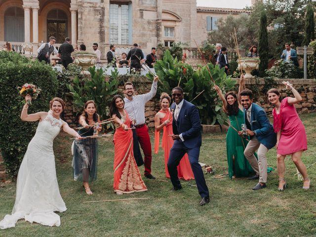 Le mariage de Amari et Geri à Saint-Thibéry, Hérault 33
