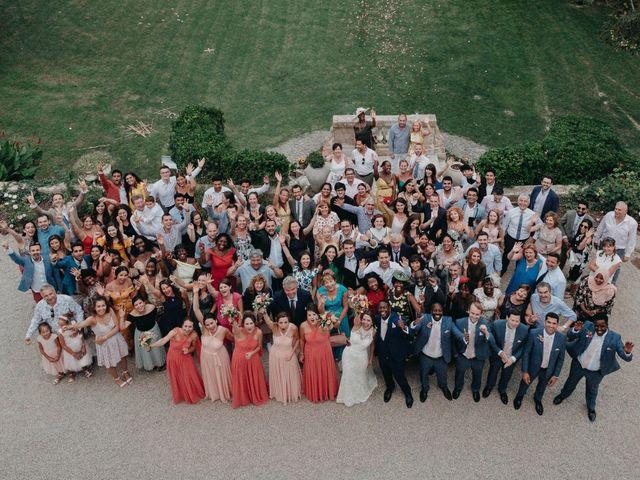 Le mariage de Amari et Geri à Saint-Thibéry, Hérault 40