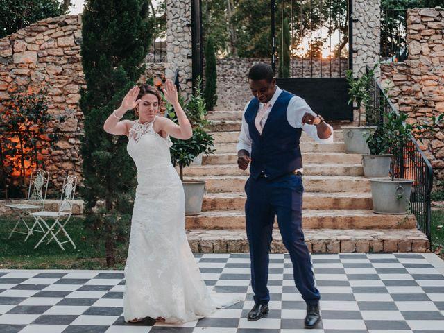 Le mariage de Amari et Geri à Saint-Thibéry, Hérault 44