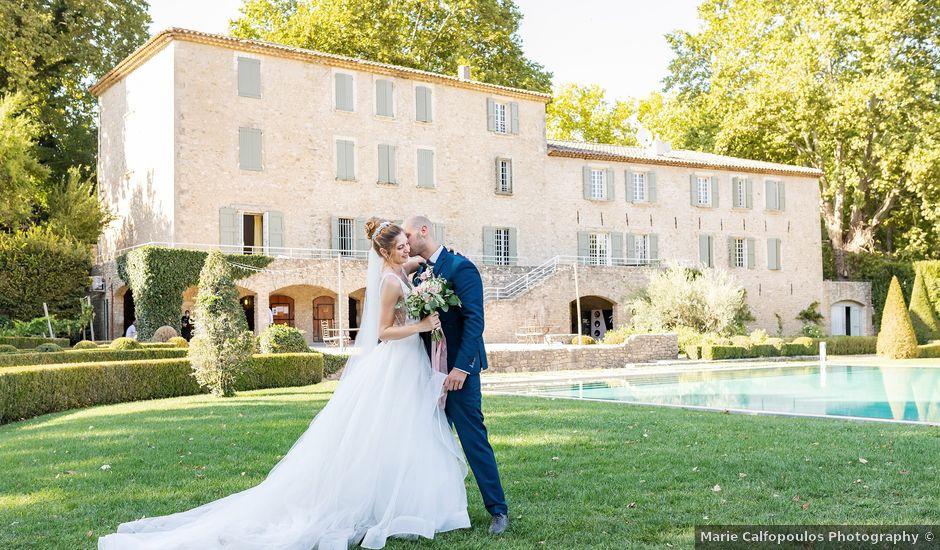 Le mariage de Franck et Laetitia à Saignon, Vaucluse