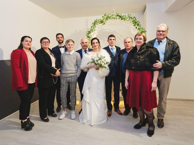 Le mariage de Léonard et Léa à Merey, Eure 33
