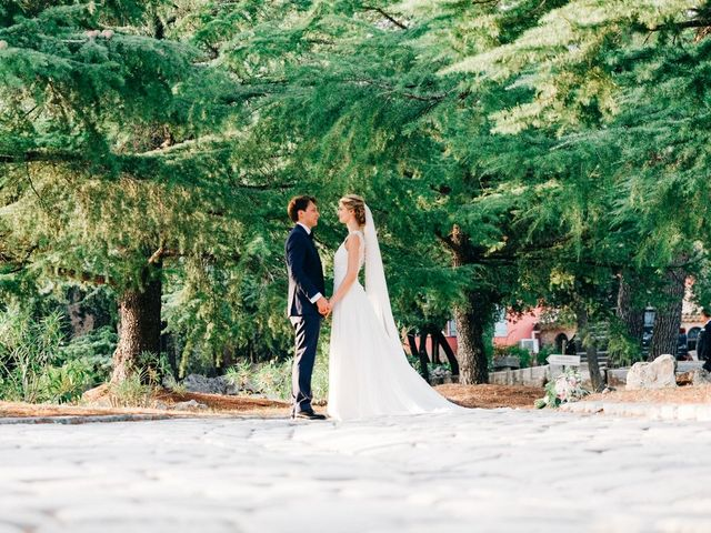 Le mariage de Guilhem et Laura à Taradeau, Var 91