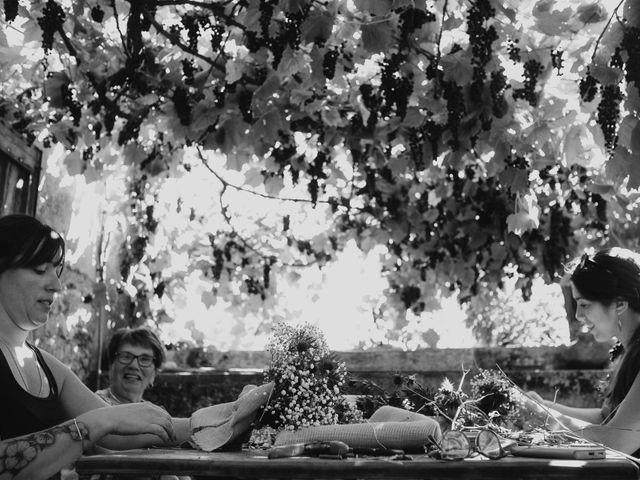Le mariage de Julien et Alexandra à Génolhac, Gard 3