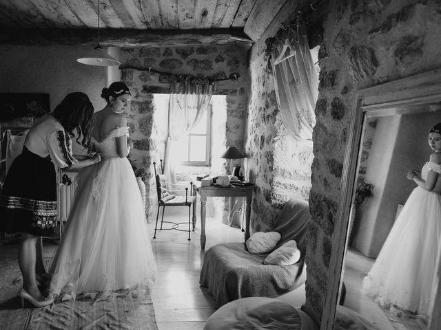 Le mariage de Julien et Alexandra à Génolhac, Gard 1